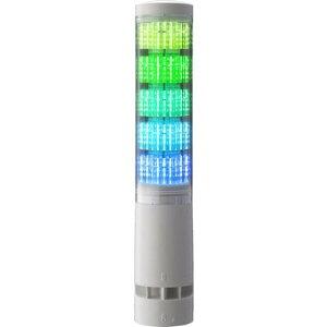 パトライト LA6型積層情報表示灯Φ60 直付け・端子台・ブザーあり 1台 (LA6-5DTNWB-RYGBC)