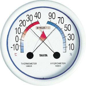TANITA 食中毒注意ゾーン付温湿度計 5488 1個 (5488)