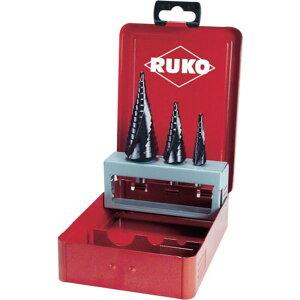 RUKO 2枚刃スパイラルステップドリル 38mm チタンアルミニウム 1本