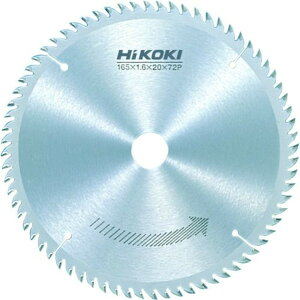 HiKOKI チップソー(造作用) 165mmX20 72枚刃 1枚