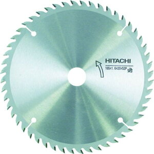 HiKOKI チップソー(木材用) 165mmX20 52枚刃 1枚