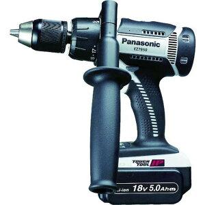 Panasonic 充電振動ドリル&ドライバー 18V 5.0Ah 1台