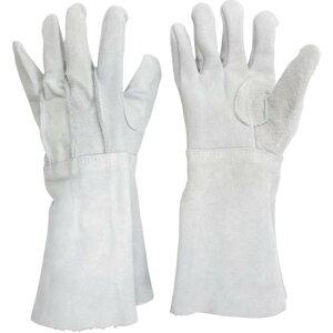 ミドリ安全 溶接用 牛床革手袋 MT−106−5P 1双 (MT-106-5P)