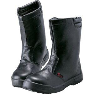 ノサックス 耐滑ウレタン2層底 静電作業靴 半長靴 25.5CM 1足