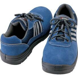 アイトス セーフティシューズ 短靴ヒモタイプ ネイビー 25.5cm 1足