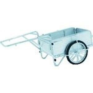 アルインコ アルミ製折りたたみ式リヤカー 1台 (HKM150)