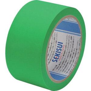 積水 養生テープ スマートカットテープFILM 50×25m ミドリ 1巻