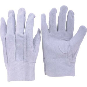 TRUSCO 牛床革手袋 LLサイズ 1双 (JK-1-LL)