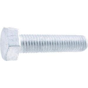 TRUSCO 六角ボルト全ねじ ドブ M10×60 (10本入) 1PK (Y012-1060)