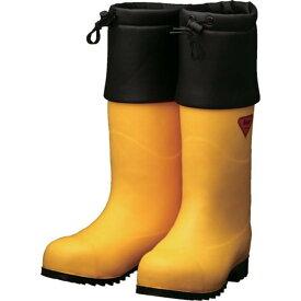 SHIBATA 防寒安全長靴 セーフティベアー#1001白熊(イエロー) 1足 (AC091-23.0)