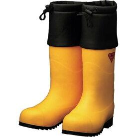 SHIBATA 防寒安全長靴 セーフティベアー#1001白熊(イエロー) 1足 (AC091-28.0)
