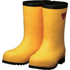 SHIBATA 防寒安全長靴セーフティベアー#1011白熊(イエロー)フード無し 1足 (AC101-22.0)