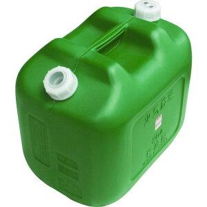 ヒシエス 軽油缶 20Lワイド グリーン 1個