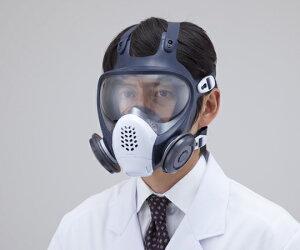 防塵マスク(全面形) DR185L2W(M) 1個