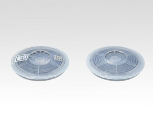 防塵マスクDR22P2W用フィルター 2個1組 1箱(2個入)