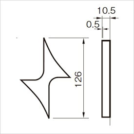 SUS階数表示 NS01-矢印 1個