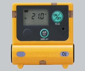 装着型酸素濃度計 0~25vol%(25~50vol%) XO-2200 1台
