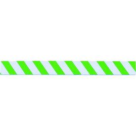 TRUSCO セーフティクッション 幅100mmX長さ1m グリーン/ホワイト 1枚 (TSC-1001-GW)