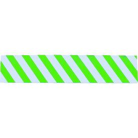 TRUSCO セーフティクッション 幅200mmX長さ1m グリーン/ホワイト 1枚 (TSC-2001-GW)