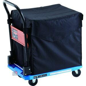 TRUSCO 樹脂台車 カルティオ CHBハンドトラックボックス付 樹脂ストッパー付 ブルー 1台 (MPK-720-B-JS-CHB)