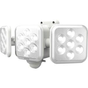 ライテックス 5W3灯 フリーアーム式 LEDソーラーセンサーライト 6台
