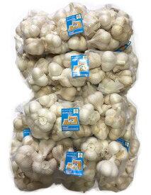 にんにく 青森県産 「ホワイト六片にんにく」 業務用にんにくMサイズ5kg 2020年新物 産地直送 送料無料