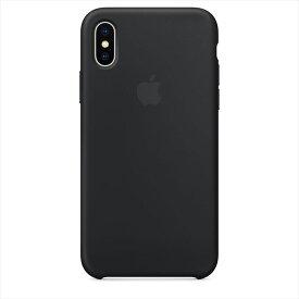 Apple(アップル)純正 iPhone X(5.8インチ)シリコーンケース ブラック MQT12FE/A MQT12FEA