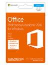 マイクロソフト オフィス Microsoft Office Professional Academic 2016 for Windows 1ユーザー2台用 永続ライセンス プロフェッショナ…