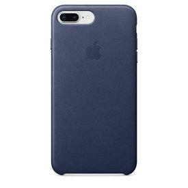 Apple(アップル)純正 iPhone 7 Plus/8 Plus(5.5インチ) レザーケース ミッドナイトブルー MQHL2FE/A MQHL2FEA