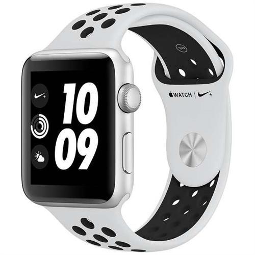 [エントリーでポイント10倍以上&最大2000円引クーポン]アップルウォッチ 本体 ナイキ Apple Watch Series 3 Nike+ 38mm シルバーアルミニウムケースとピュアプラチナム/ブラックNikeスポーツバンド シリーズ3 (GPSモデル)MQKX2J/A MQKX2J/A