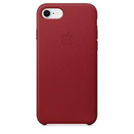 Apple(アップル)純正 iPhone 7/8(4.7インチ)レザーケース (PRODUCT)RED レッド MQHA2FE/A MQHA2FEA