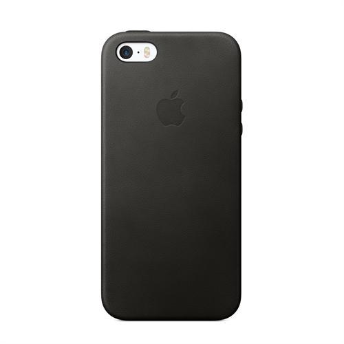 Apple(アップル)純正 iPhone SE/5s/5用 レザーケース(ブラック) MMHH2FE/A MMHH2FEA