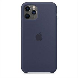 Apple(アップル)純正 iPhone 11 Pro(5.8インチ)シリコーンケース ミッドナイトブルー 保護ケース MWYJ2FE/A