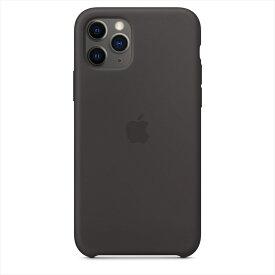 Apple(アップル)純正 iPhone 11 Pro(5.8インチ)シリコーンケース ブラック 保護ケース 国内正規品 MWYN2FE/A