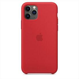 Apple(アップル)純正 iPhone 11 Pro(5.8インチ)シリコーンケース (PRODUCT)RED レッド 保護ケース MWYH2FE/A