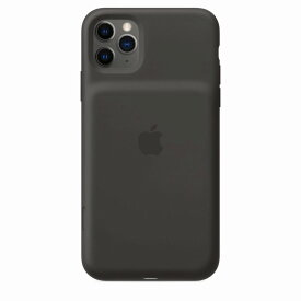 Apple(アップル)純正 iPhone 11 Pro Max(6.5インチ)Smart Battery Case スマートバッテリーケース[Qiワイヤレス充電](ブラック)MWVP2ZA/A