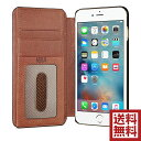 Sena Wallet Book Case for iPhone 6/6s ウォレット カードポケット 最高級フルグレインタンブルドレザー 手帳 保護ケース