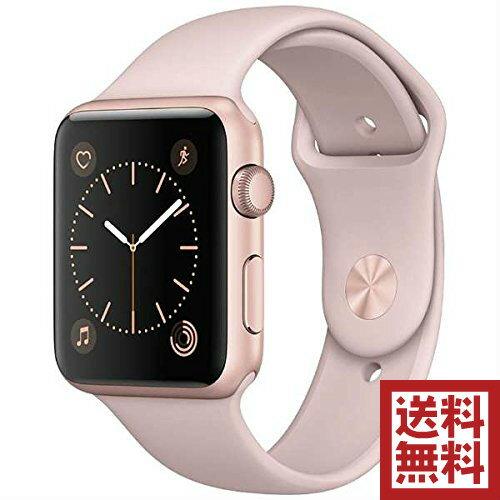 アップルウォッチ 本体 Apple Watch Series 1 42mm ローズゴールドアルミニウムケースとピンクサンドスポーツバンド シリーズ1 MQ112J/A