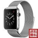 235位:Apple Watch Series 2 38mm ステンレススチールケースとミラネーゼループ MNTE2J/A アップルウォッチ 本体