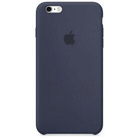 Apple アップル 純正 iPhone 6/6s Plus(5.5インチ)シリコーンケース ミッドナイトブルー MKXL2FE/A MKXL2FEA