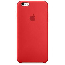 Apple アップル 純正 iPhone 6 Plus/6s Plus(5.5インチ)シリコーンケース レッド (PRODUCT)RED MKXM2FE/A MKXM2FEA