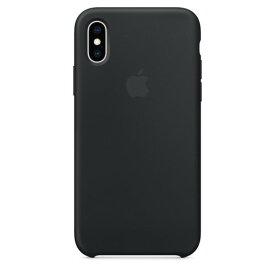 Apple(アップル)純正 iPhone XS(5.8インチ)シリコーンケース ブラック MRW72FE/A MRW72FEA