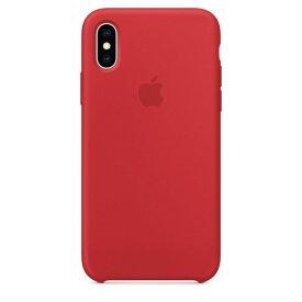 Apple(アップル)純正 iPhone XS(5.8インチ)シリコーンケース (PRODUCT) RED MRWC2FE/A MRWC2FEA