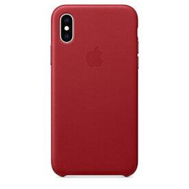 Apple(アップル)純正 iPhone XS(5.8インチ)レザーケース (PRODUCT)RED MRWK2FEA MRWK2FE/A