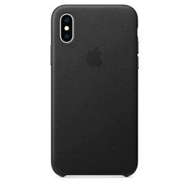 Apple(アップル)純正 iPhone XS(5.8インチ)レザーケース ブラック MRWM2FE/A MRWM2FEA