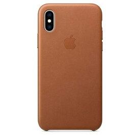 Apple(アップル)純正 iPhone XS(5.8インチ)レザーケース サドルブラウン MRWP2FE/A MRWP2FEA
