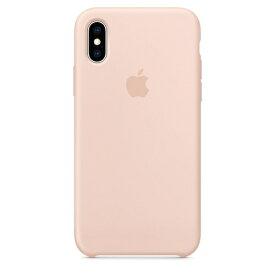Apple(アップル)純正 iPhone XS(5.8インチ)シリコーンケース ピンクサンド MTF82FE/A MTF82FEA