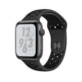 Apple Watch Nike+ Series 4(GPS)44mm スペースグレイアルミニウムケースとアンスラサイト/ブラックNikeスポーツバンド [アップルウォッチ シリーズ4] MU6L2J/A MU6L2JA