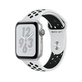 Apple Watch Nike+ Series 4(GPS)40mm シルバーアルミニウムケースとピュアプラチナム/ブラックNikeスポーツバンド [アップルウォッチ シリーズ4]MU6H2J/A MU6H2JA