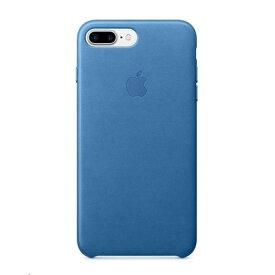 Apple(アップル)純正 iPhone 7 Plus/8 Plus (5.5インチ)レザーケース シーブルー MMYH2FE/A MMYH2FEA